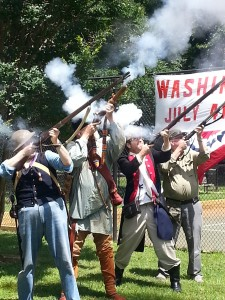 Musket Firing, 4th of July