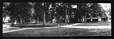 The Circle, looking northeast (93-30)