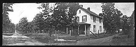 Brown Street, looking northwest; house is 405 (93-33)